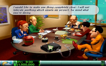 Airline Tycoon Deluxe スクリーンショット1