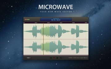 MicroWave - Audio Editor and Recorder スクリーンショット1