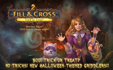 Fill and Cross. Trick or Treat! 2 スクリーンショット1