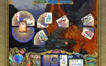 The chronicles of Emerland. Solitaire. スクリーンショット4