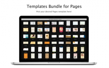 Templates Bundle for Pages スクリーンショット1