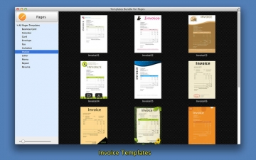 Templates Bundle for Pages スクリーンショット4