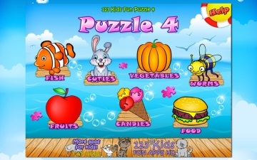 123 Kids Fun PUZZLE GOLD - Puzzle for Kids スクリーンショット1