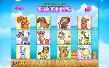 123 Kids Fun PUZZLE GOLD - Puzzle for Kids スクリーンショット2