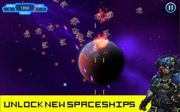 Space Shooter: Fun Arcade Game スクリーンショット1