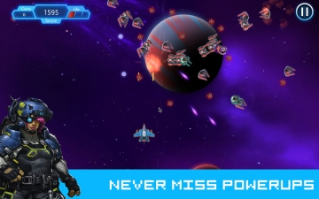 Space Shooter: Fun Arcade Game スクリーンショット2