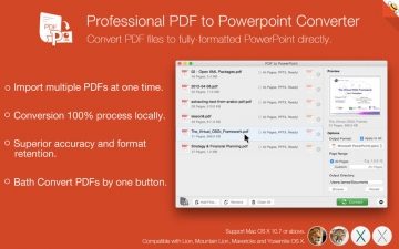 PDF to PowerPoint by Feiphone スクリーンショット1