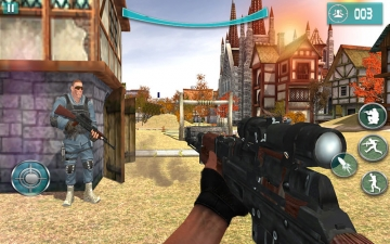 Ghost Marine Shooter FPS Pro スクリーンショット1