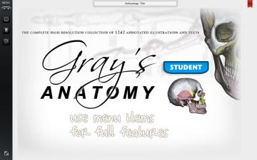 Grays Anatomy Student Edition スクリーンショット1