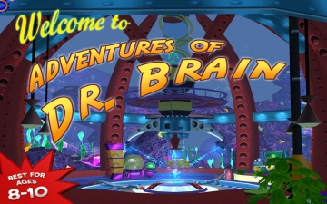 JumpStart Advanced 3-5 The Adventures of Dr. Brain スクリーンショット1