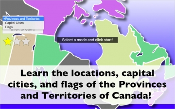Canada Map Quiz Education Ed. スクリーンショット1