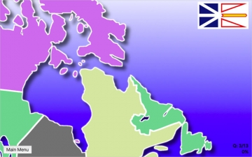 Canada Map Quiz Education Ed. スクリーンショット4