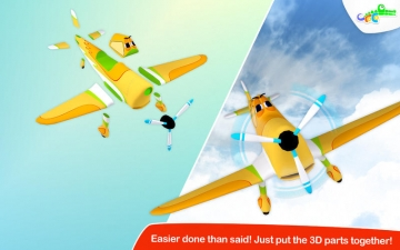 Build and Play 3D - Planes Special Edition スクリーンショット2