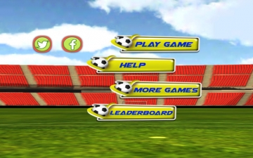 Football Soccer Real Game 3D 2014 (Most Amazing Real Football Game is Back) スクリーンショット2