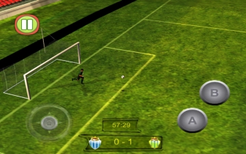 Football Soccer Real Game 3D 2014 (Most Amazing Real Football Game is Back) スクリーンショット3