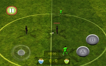 Football Soccer Real Game 3D 2014 (Most Amazing Real Football Game is Back) スクリーンショット4