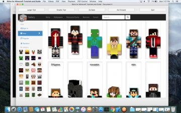 Skins for Minecraft Tutorials and Guide スクリーンショット2