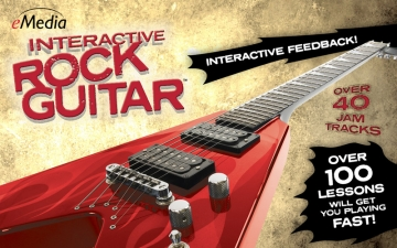 eMedia Interactive Rock Guitar スクリーンショット1
