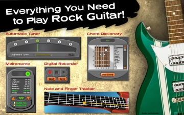 eMedia Interactive Rock Guitar スクリーンショット4