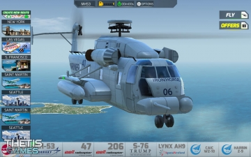 SimCopter Helicopter Simulator Premium スクリーンショット1