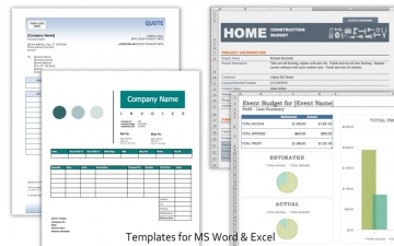 Templates Pro for MS Office スクリーンショット2