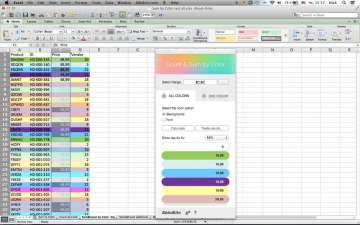 Count & Sum by Color for Microsoft Excel スクリーンショット5