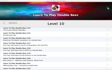Learn To Play Double Bass スクリーンショット2