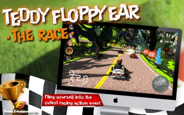 Teddy Floppy Ear: The Race スクリーンショット1