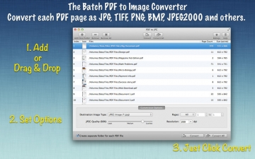 PDF to JPG : The Batch PDF to Image Converter スクリーンショット1