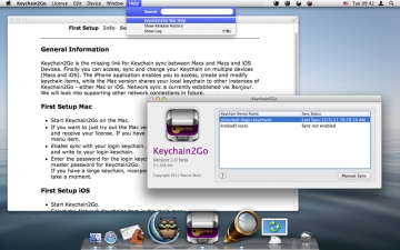 Keychain2Go - Password Manager and Keychain Sync スクリーンショット2