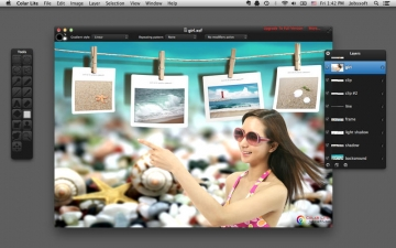 Colar Lite - an Advanced Image Editor スクリーンショット1