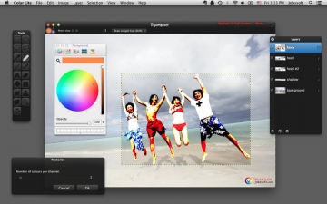 Colar Lite - an Advanced Image Editor スクリーンショット4