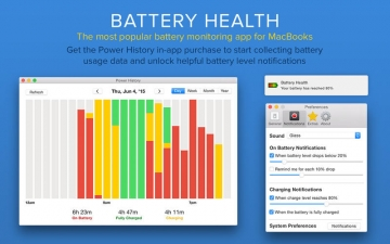 Battery Health - Monitor Battery Stats and Usage スクリーンショット3