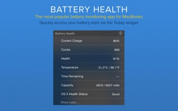 Battery Health - Monitor Battery Stats and Usage スクリーンショット4