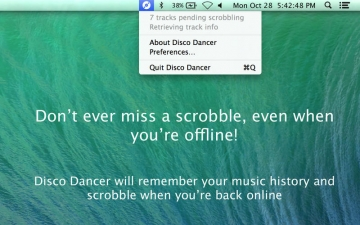 Disco Dancer – Simple Scrobbler for Last.fm スクリーンショット3
