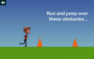 Easy Jumping Game - run and jump over obstacles スクリーンショット1