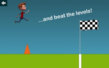 Easy Jumping Game - run and jump over obstacles スクリーンショット2