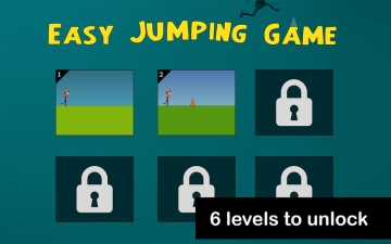 Easy Jumping Game - run and jump over obstacles スクリーンショット3