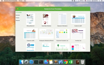Awesome Templates - for Microsoft Excel Edition スクリーンショット1