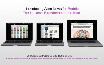 Alien News - Modern News Reader for Reddit スクリーンショット1