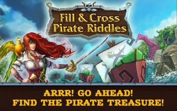 Fill and Cross. Pirate Riddles スクリーンショット1