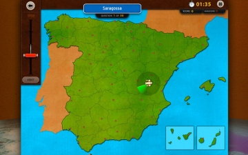 GeoFlight Spain: Learning Spanish Geography made easy and fun スクリーンショット1