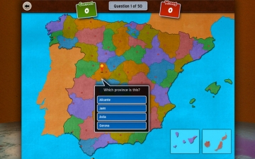 GeoFlight Spain: Learning Spanish Geography made easy and fun スクリーンショット2