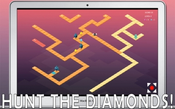 Mine Miner - Hunt the Diamonds スクリーンショット1