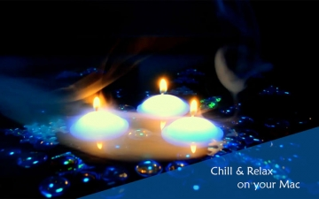Chill & Relax Fireplace: Fire & Candle HD Video スクリーンショット5