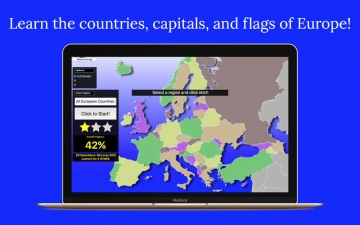 Europe Map Quiz Education Ed. スクリーンショット1