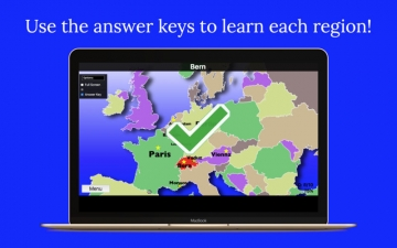 Europe Map Quiz Education Ed. スクリーンショット4