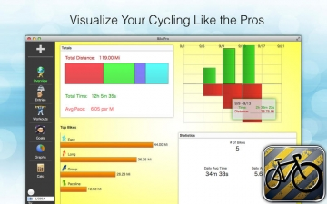 BikePro - Biking & Cycling Log スクリーンショット3