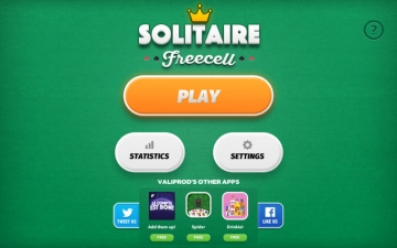 Solitaire Freecell - card game スクリーンショット1