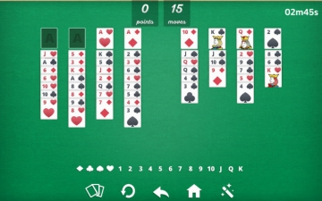 Solitaire Freecell - card game スクリーンショット3